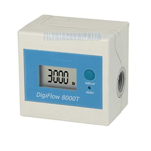 Contalitri Digitale DG FLOW 8000T Tempo / Litri