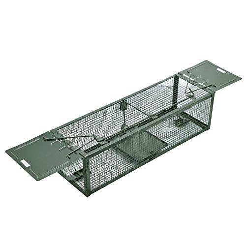 Trappola professionale a gabbia per topi - Doppia porta