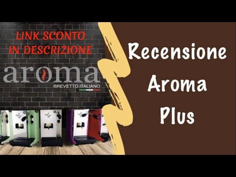 Recensione Aroma Plus 💍 punta di Diamante della gamma di Aroma macchine (sconto in descrizione)